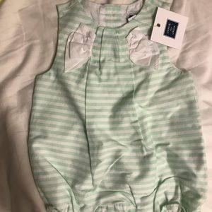 NWT Janie and Jack Romper- 3-6 months